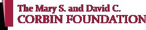 The Mary S. and David C. Corbin Foundation Logo